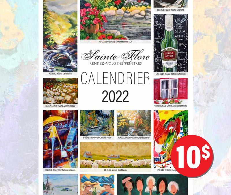 Lancement du nouveau calendrier 2022 !