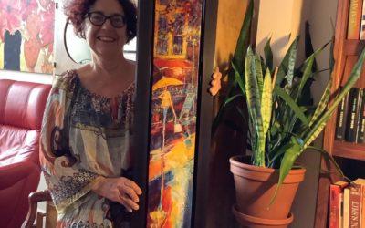 Acquisition d'une toile sur la galerie virtuelle du Rendez- vous des peintres